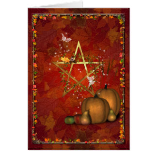 Samhain/OldeHallowmas/Martinmas Greeting Card