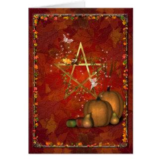 Samhain OldeHallowmas Martinmas Greeting Cards