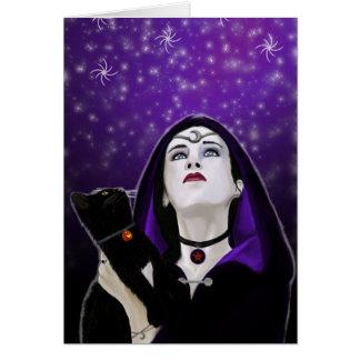 samhain skies greeting card