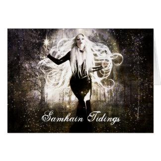 Samhain Tidings Card