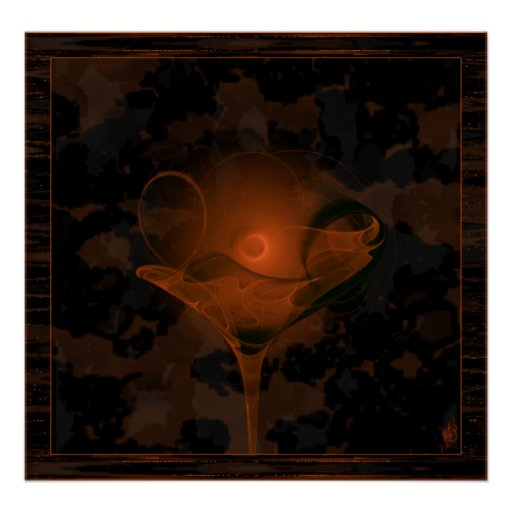 Samhain Toast Faery Martini Art Poster