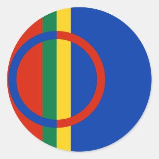 Sami, Finland Classic Round Sticker