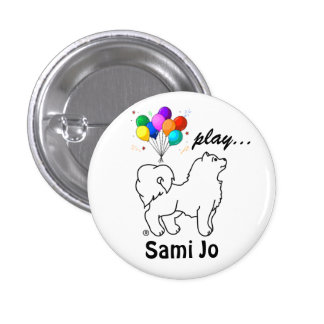 Sami Jo s Play Button Pin