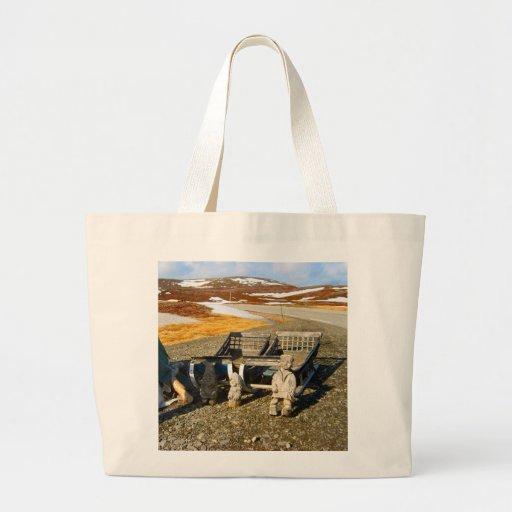 Sami settlement, Lapland, northern Norway Bag