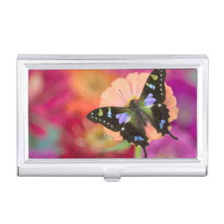 Sammamish Washington Photograph of Butterfly 11 Business Card Holder