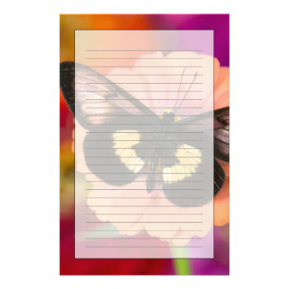 Sammamish Washington Photograph of Butterfly 12 Stationery Paper