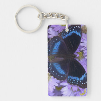 Sammamish Washington Photograph of Butterfly 20 Key Ring