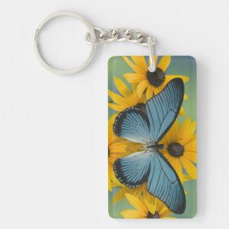 Sammamish Washington Photograph of Butterfly 22 Key Ring