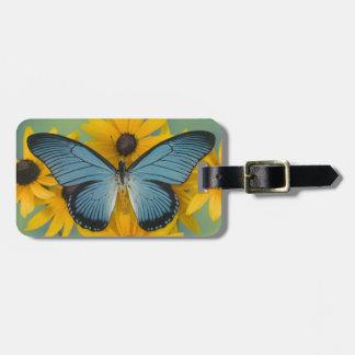 Sammamish Washington Photograph of Butterfly 22 Luggage Tag