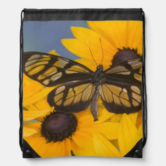 Sammamish Washington Photograph of Butterfly 24 Drawstring Bag