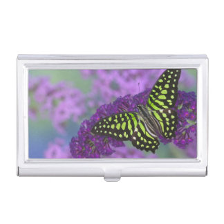 Sammamish Washington Photograph of Butterfly 31 Business Card Holder