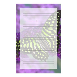 Sammamish Washington Photograph of Butterfly 31 Personalized Stationery