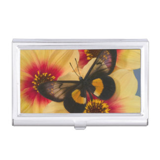 Sammamish Washington Photograph of Butterfly 39 Business Card Holder