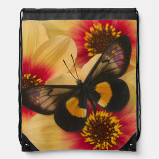 Sammamish Washington Photograph of Butterfly 39 Drawstring Backpack