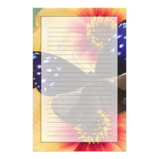 Sammamish Washington Photograph of Butterfly 40 Stationery