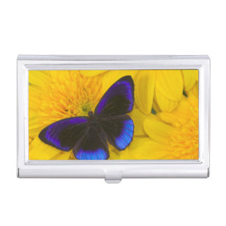 Sammamish Washington Photograph of Butterfly 41 Business Card Holder