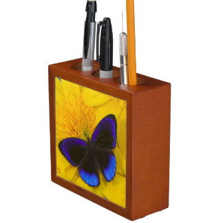 Sammamish Washington Photograph of Butterfly 41 Desk Organiser