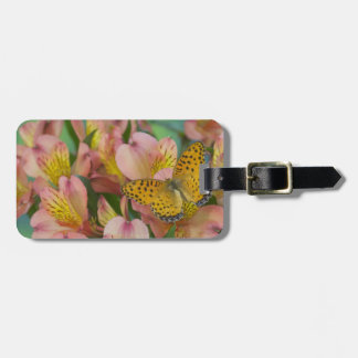 Sammamish Washington Photograph of Butterfly 48 Luggage Tag