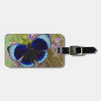Sammamish Washington Photograph of Butterfly Luggage Tag