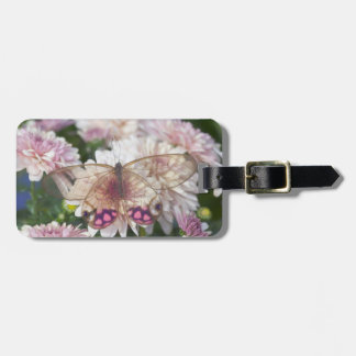 Sammamish Washington Photograph of Butterfly on 15 Luggage Tag