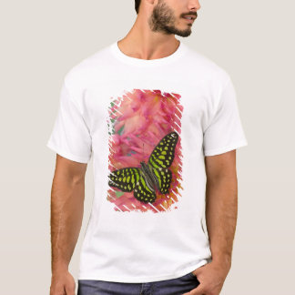 Sammamish Washington Photograph of Butterfly on 3 T-Shirt