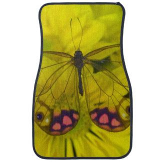 Sammamish Washington Photograph of Butterfly on 8 Car Mat
