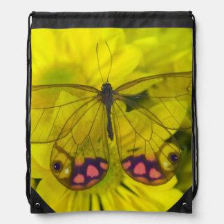 Sammamish Washington Photograph of Butterfly on 8 Drawstring Bag