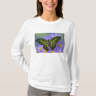 Sammamish Washington Photograph of Butterfly on 9 T-Shirt