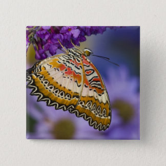 Sammamish, Washington. Tropical Butterflies 65 15 Cm Square Badge