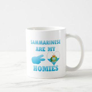 Sammarineses are my Homies Coffee Mugs
