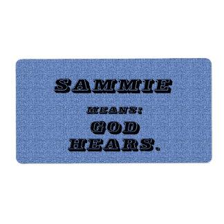 Sammie