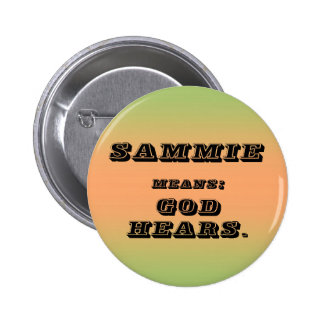 Sammie Pinback Buttons