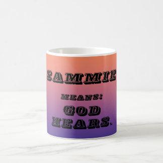 Sammie Basic White Mug