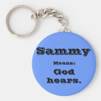 Sammy Key Ring