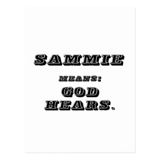 Sammy Postcard
