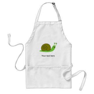 Sammy the Green Garden Snail Standard Apron
