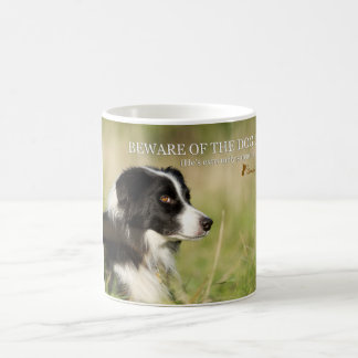 Sammy the sarcastic Border Collie Coffee Mug