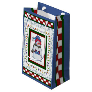 Sammy the Snowman Small Gift Bag