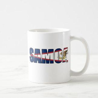 Samoa (American Samoa Flag) Coffee Mug