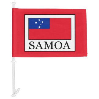 Samoa Car Flag