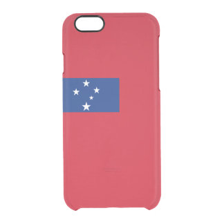 Samoa Clear iPhone Case