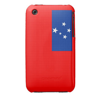 samoa country flag case iPhone 3 cover