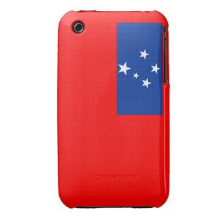 samoa country flag case Case-Mate iPhone 3 case