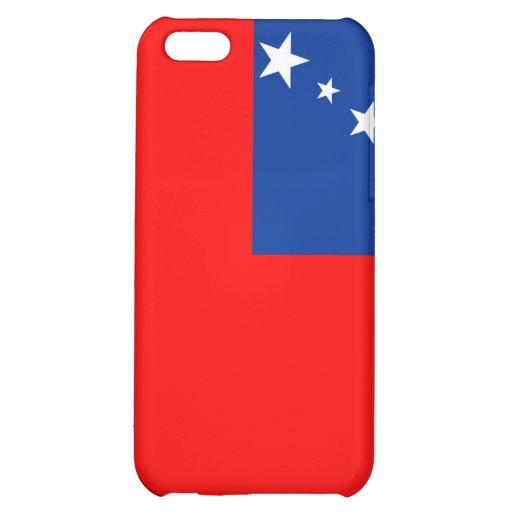 samoa country flag case iPhone 5C cases
