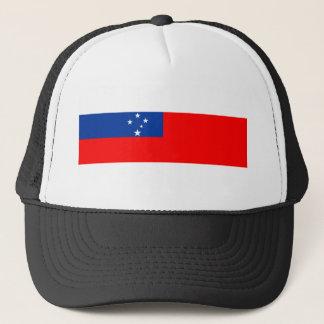 samoa country flag nation symbol trucker hat