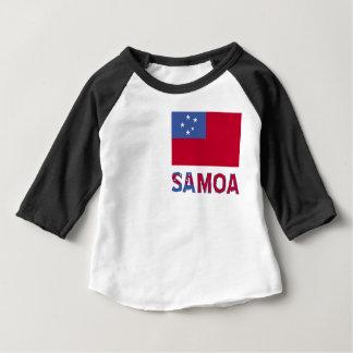 Samoa Flag and Word Shirts