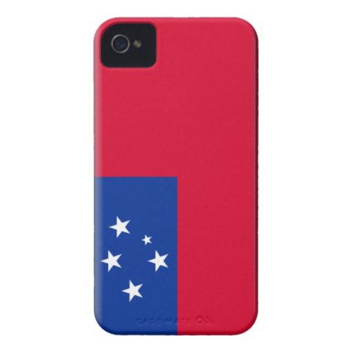 Samoa Flag iPhone 4 Case