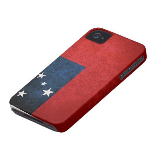 Samoa Flag Case-Mate iPhone 4 Cases