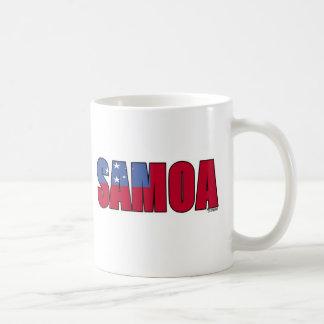 Samoa Flag Coffee Mug