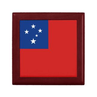 Samoa Flag Gift Box